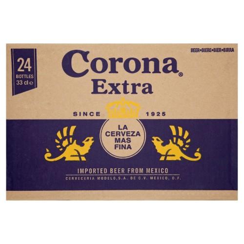 Corona Extra Non Returnable Bottle Beer 330ml (Case of 24)