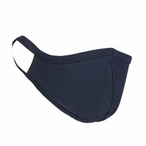 Orn Anti-Bacterial Washable 100% Cotton Protective Face Mask Navy