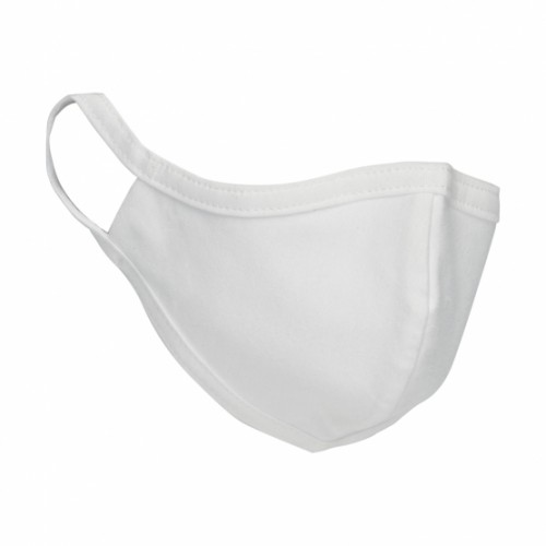 Orn Anti-Bacterial Washable 100% Cotton Protective Face Mask White