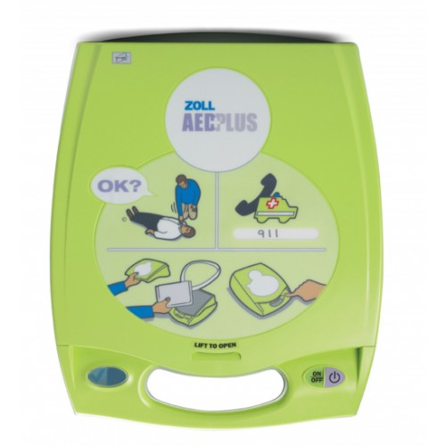 ZOLL AED Plus® Semi-Automatic Defibrillator First Responder with Professional Interface