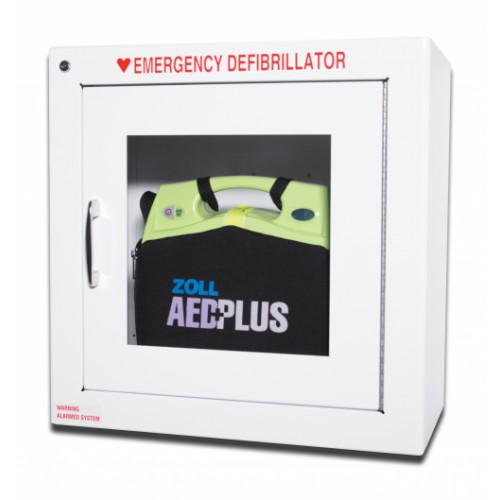 ZOLL AED Plus® Standard Wall Cabinet [For use with carry case]