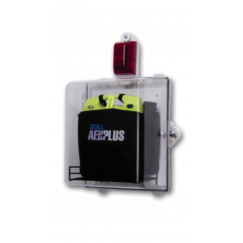 ZOLL AED Plus® Clear Surface Mounted Cabinet