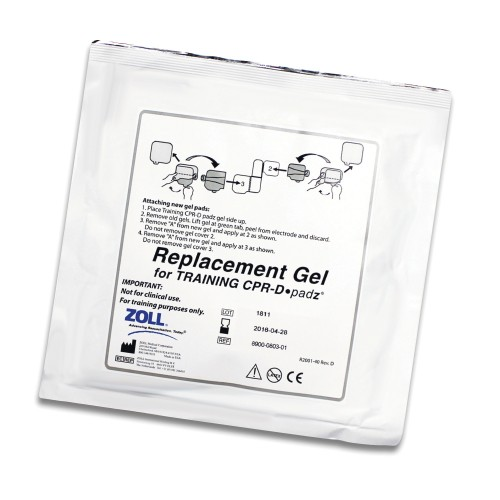 ZOLL® Replacement Adhesive Gels for CPR-D padz®