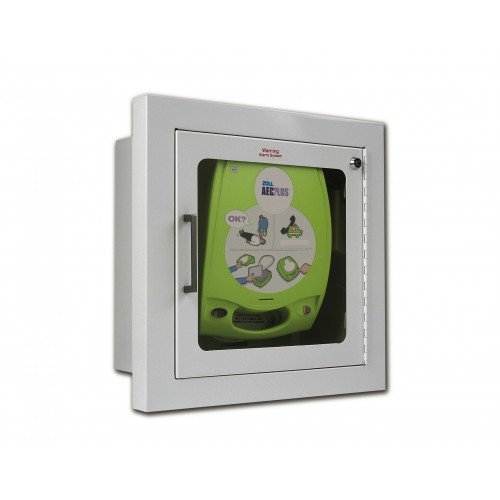 ZOLL AED Plus® Fully-Recessed Wall Cabinet