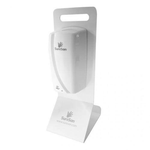 SureSan Countertop XP Dispenser Stand White (includes free XP Auto Dispenser)