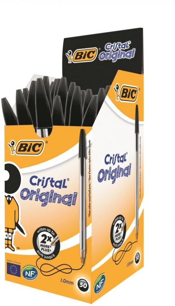 Bic Cristal Black