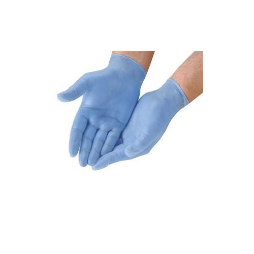 Nitrile Gloves Pack 100 gloves Size Medium Powder Free