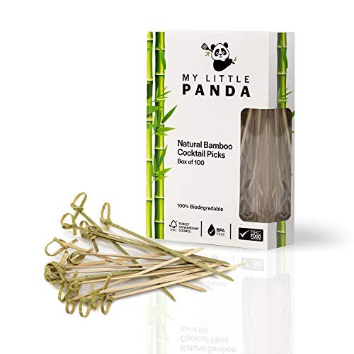 Bamboo Cocktail Picks - Pack of 100