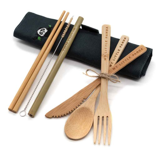 Bamboo travel set Midnight