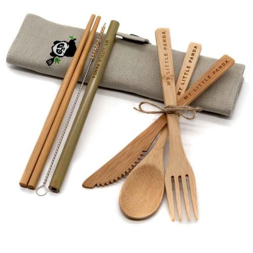 Bamboo travel set Platinum