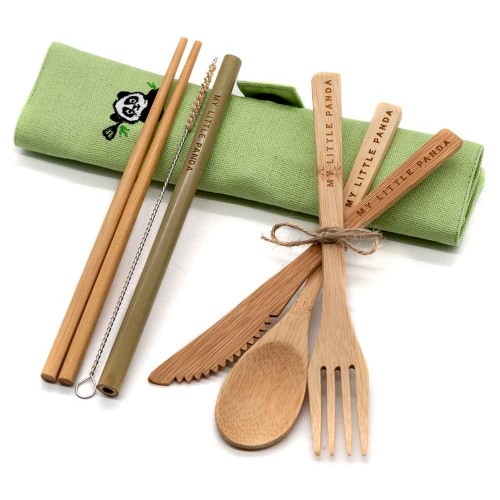 Bamboo travel set Citrus
