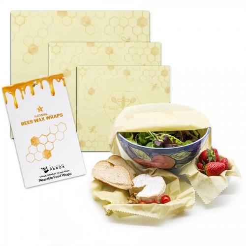 Beeswax Wraps - Set of 3