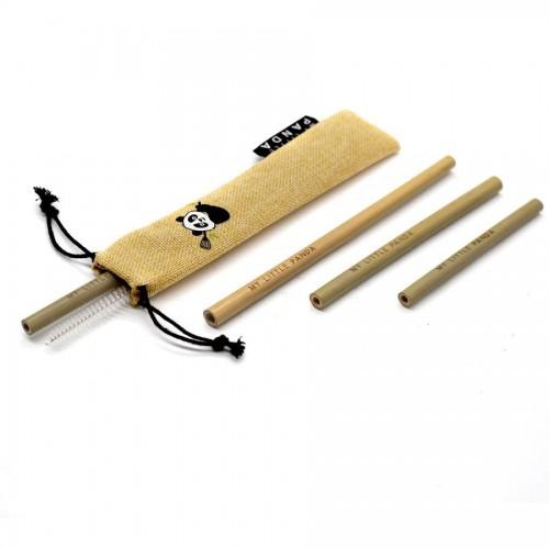 Reusable Bamboo Straws Selection - Sun Dust