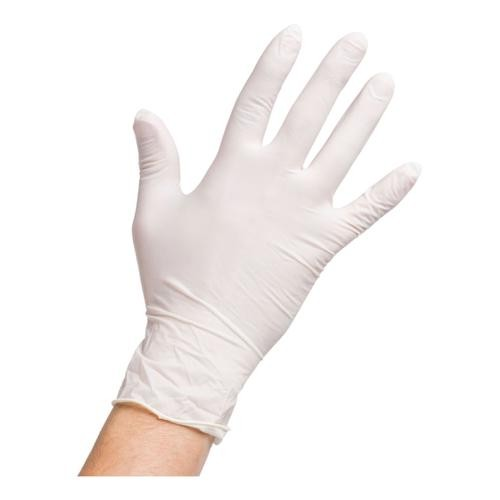 Latex Gloves Powder Free LARGE [Pack 100]