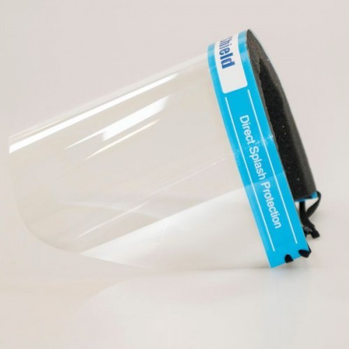 Reusable & Wipeable - Eyes, Nose & Mouth Face Shield [Pack 1]