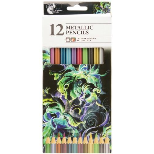 School Metallic Pencils [Pack 12]