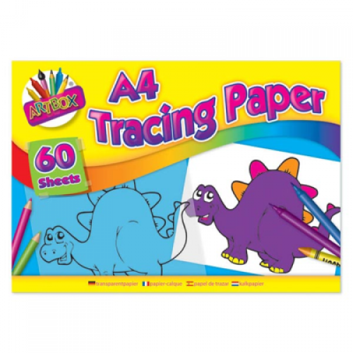 School Tracing Paper Pad Basic A4 60 Sheets [Pack 1]