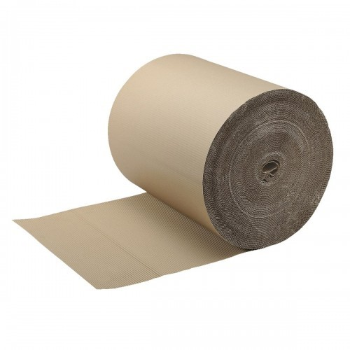 School Corrugated Card Roll 900mmx75m [Pack 1]