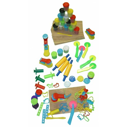 School Modelling Set 66 Pieces [Pack 1]