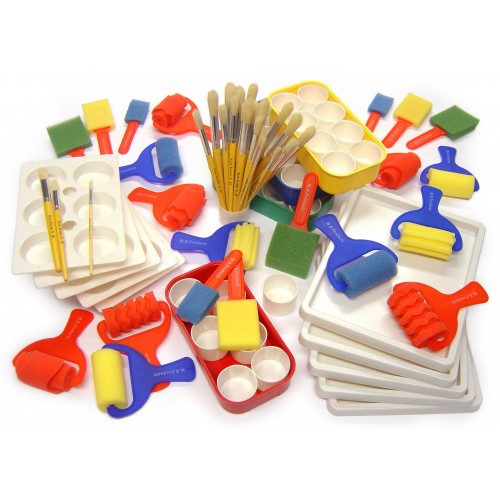 School Painting Set 65 Pieces [Pack 1]
