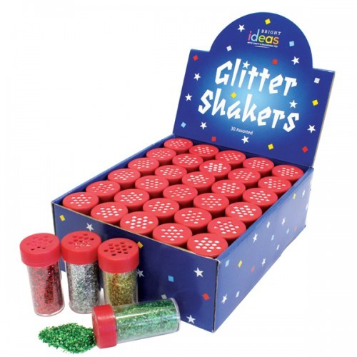 School Glitter Shakers [Pack 30]