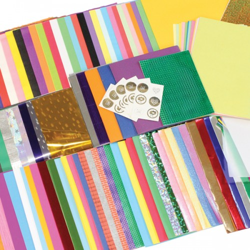 School Craft Papers Bundle Bumper Pack 540+ A4 & A3 Sheets [Pack 1]