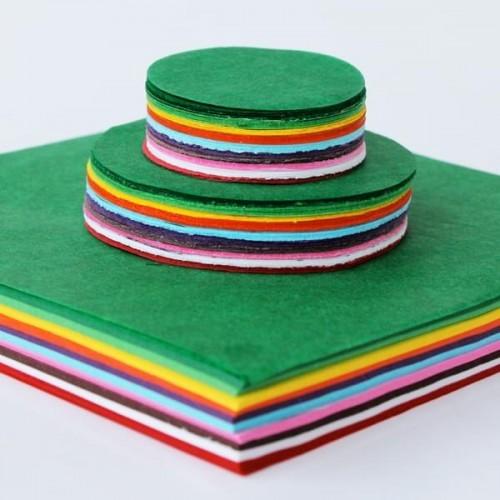 School Tissue Paper Circles & Squares Assorted [Pack 1500]