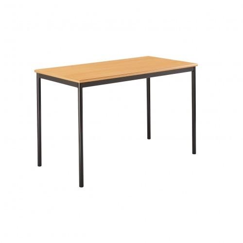 School Table Rectangular 1200x600mm Fully Welded Frame MDF Bullnose Edge