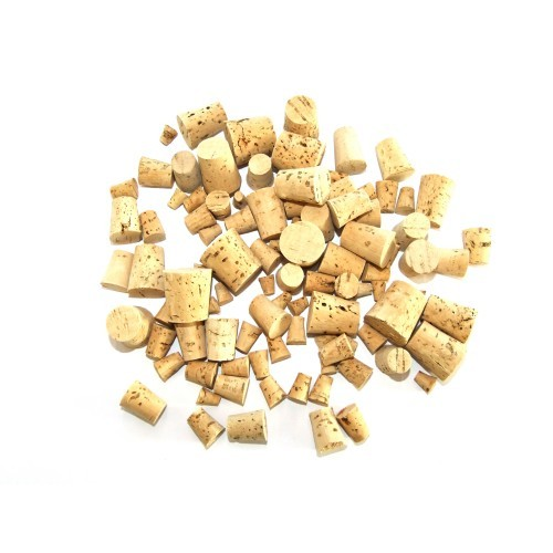 School Assorted Craft Corks 100g [Pack 1]