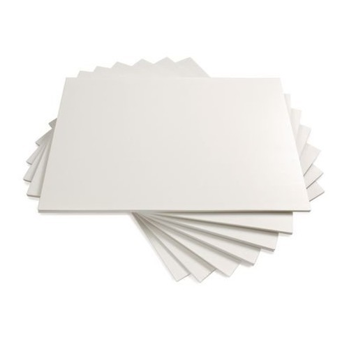 School Foam Mounting Display Board A2 420x594mm White 5mm Thickness [Pack 20]