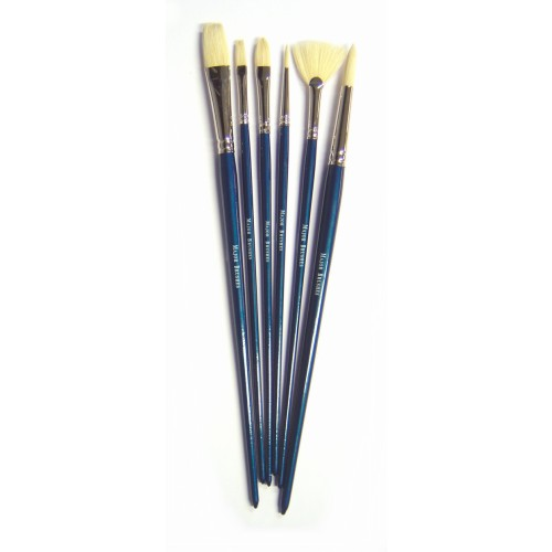 School Oil Painting Brush Set [Pack 6]