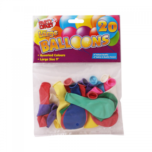 "School 9"" Large Round Balloons [Pack 20]"