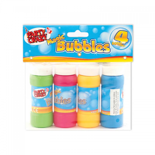 School Bubbles 60ml [Pack 4]
