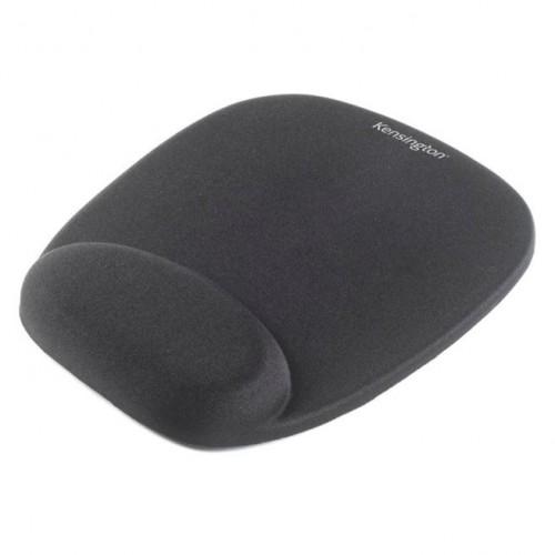 School Foam Mouse Pad & Wristrest Black [Pack 1]
