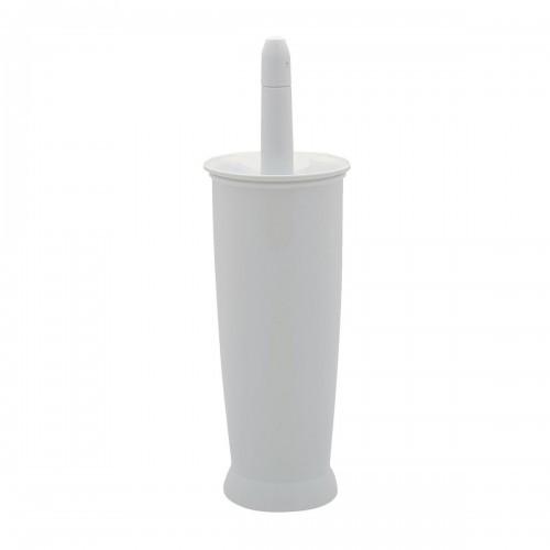 School Toilet Brush Set White [Pack 1]