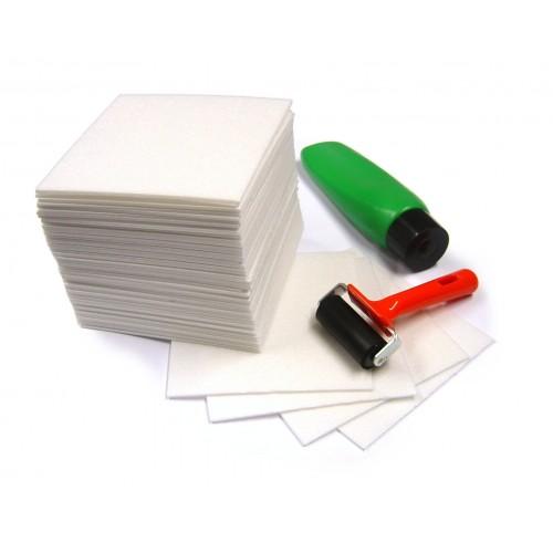 School Polystyrene Foam Sheet Tiles 165x165x3mm [Pack 50]