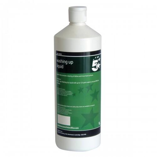 School Washing-up Liquid 1 Litre [Pack 1]