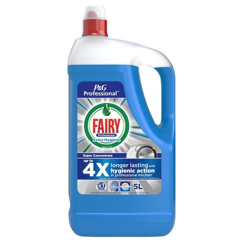 School Antibacterial Washing-up Liquid 5 Litre - Fairy [Pack 1]