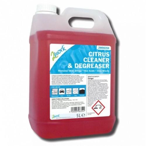 School Citrus Cleaner & Degreaser 5 Litre [Pack 1]