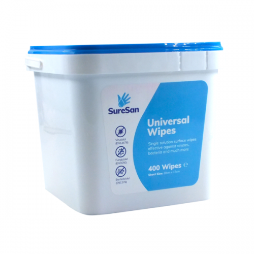 School Antibacterial Hand & Surface Cleaning Wipes [Pack 400]