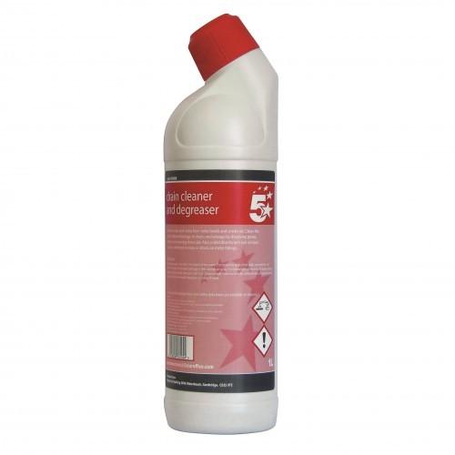 School Drain Cleaner & Degreaser 1 Litre [Pack 1]