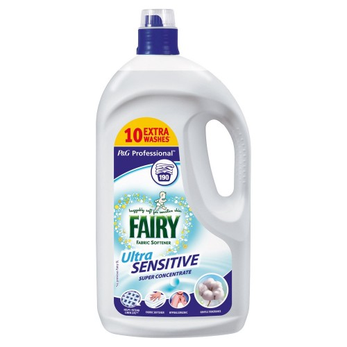 School Fabric Conditioner Softener 190 Washes - Fairy [Pack 1]