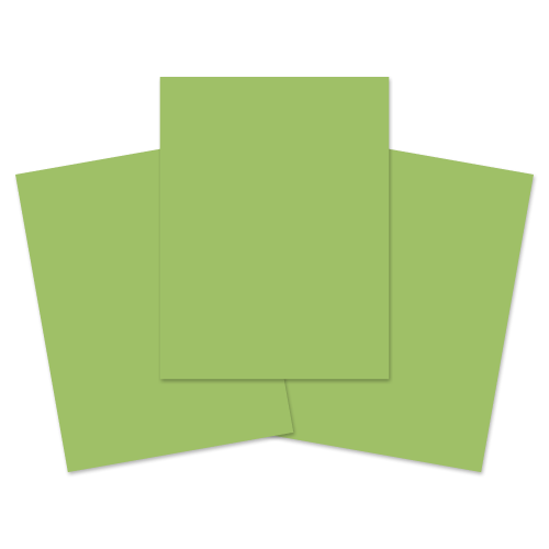 School Exercise Book A4+ 40 Pages Plain Unruled Light Green [Pack 100]