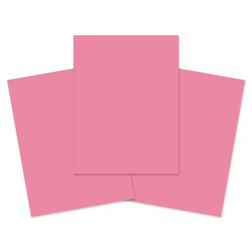School Exercise Book A4+ 40 Pages Plain Unruled Pink [Pack 100]
