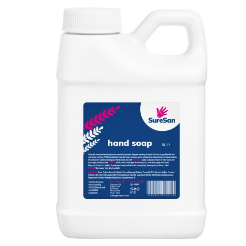 School Antibacterial Hand Soap 5 Litre [Pack 1]