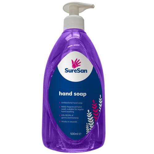 School Antibacterial Hand Soap 500ml [Pack 1]