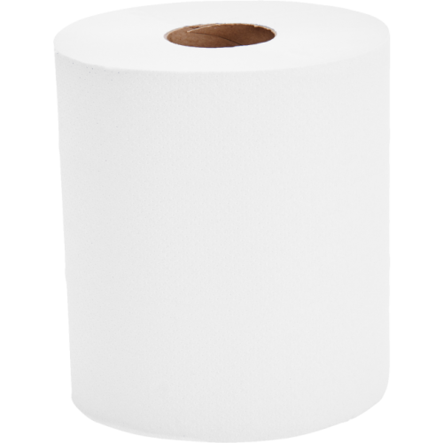 School Centrefeed Hand Towels Two-ply White 190mm(w) x 150m(l) [Pack 6]