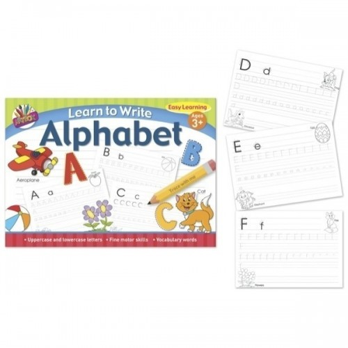 School Learn To Write Your Alphabet Letters A4 26 Pages [Pack 1]