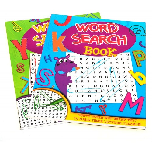 School Word Search Book A4 80 Pages [Pack 1]