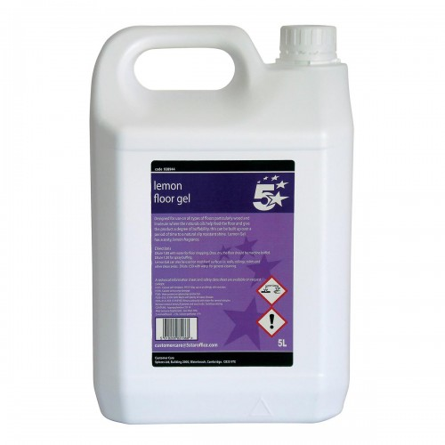 School Floor Cleaning Gel 5 Litre [Pack 1]